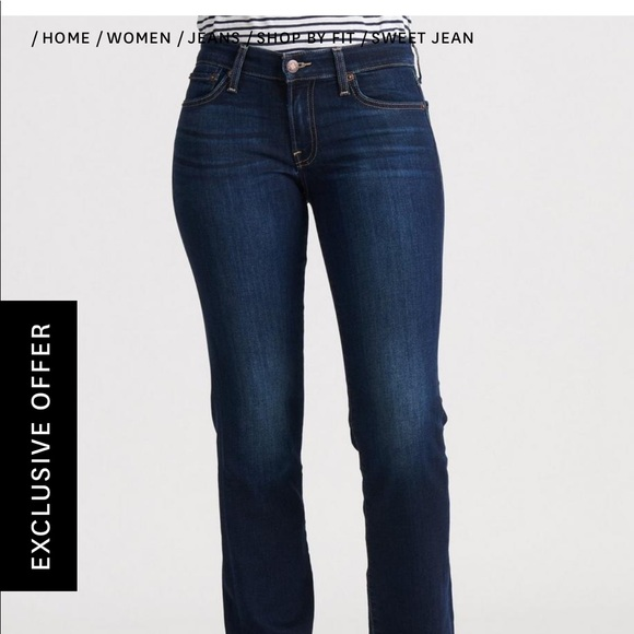 Lucky Brand Denim - Lucky Brand Sweet Straight Jean size 8R 29